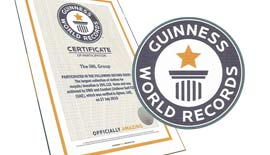Certificate of Participation- Guinness World Records 2016